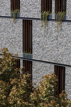 Gallery - 18 House Apartment / Ali Sodagaran + Nazanin Kazerounian - 1 Building Facade, Facade Architecture, Luxury Homes, Outdoor Structures, Architecture, House, Dekoration, Homes, Luxury Mansions