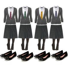 Hogwarts Uniform girls- My aim for Halloween this year!