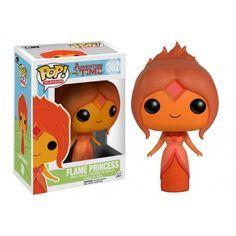 Funko Pop! Flame Princess, Adventure Time, Hora da Aventura, Cartoon, Funkomania