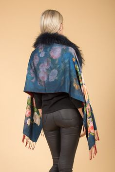 The perfect statement piece. Silk Wrap, Cashmere, Kimono Top, Luxury, Collection, Tops, Women, Fashion, Best Of Luck