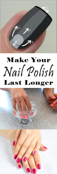 Like eyelash extensions and hair dyes, nail polishes don't stay permanently on your nails. You'd sit through a mani-pedi session for a good hour only to see the colors on your nails start to chip a few days later.