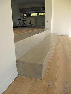 beton cire combi mit holz