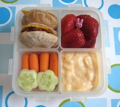 BentoLunch.net - What's for lunch at our house: Pita Tacos Bento for Faith