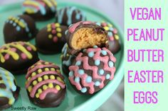 Vegan Peanut Butter Easter Eggs and a New Giveaway!