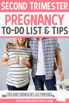 Are you entering your second trimester of pregnancy? Check out this helpful list of things to do and pregnancy tips during this exciting time to prepare for baby's arrival!