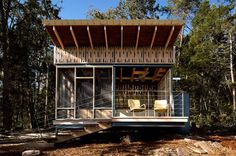 Off-Grid Tennessee Micro Cabin Packs in High Design