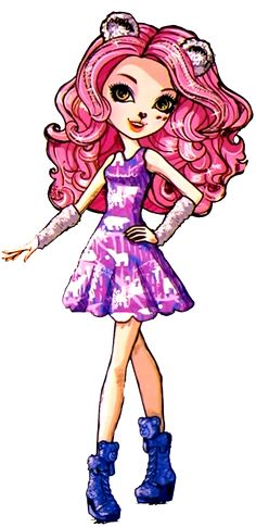 All about Monster High: Veronicub and Foxanne. Winter Pixies. Profile ar