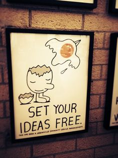 Set Your Ideas Free by Jeremyville at Tender Greens Santa Monica