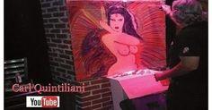 Time Lapse Painting #13 3d Fantasy Street Art Master Carl Quintiliani #CFQ #CarlFuckingQuintiliani - YouTube   Pinterest   3d artist Art 3d and Art