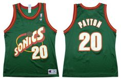 Gary Payton from the Seattle Supersonics