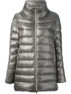 Shop Herno metallic padded coat in Yusty from the world's best independent boutiques at farfetch.com. Over 1000 designers from 60 boutiques in one website.