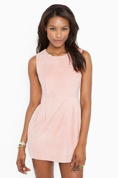 someday baby suede dress
