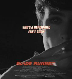 The poster looks like what Blade Runner would have been like had it been directed by Quentin Tarantino. Film Blade Runner, Blade Runner 2049, Denis Villeneuve, Ridley Scott, Columbia Pictures, The Shining, Quentin Tarantino, Classic Tv, Science Fiction