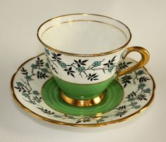 Tuscan Bone China cup and saucer