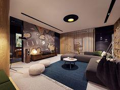 Master Suite Bedroom, Home Design Images, Zeppelin, Behance, House Design, Doors, Interior, Table, Dream Houses