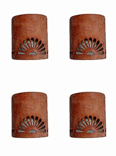 Old spanish style ceramic wall sconces by CustomCutLighting, $78.00