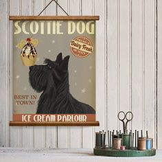 Are you interested in our Scottish terrier print gift? With our Scottie dog wall art you need look no further.