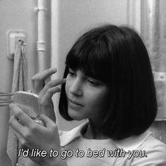 "#differFilm! Chantal Goya in ""Masculin Feminin"". directed by Jean-Luc Godard 1966. by differ.tv"
