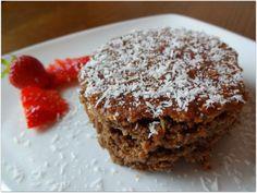 Lecker gesunder Kaffeekuchen? Kein Problem, das Rezept findet ihr bei La Gusterina Food Diary, I Foods, Sweets, Desserts, Recipes, Brownies, Vegan Coffee Cakes, Small Cake, Vegan Baking