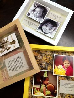Mother's Day Photo Shadow Boxes
