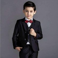 Cheap boys suits for weddings, Buy Quality wedding boys suits directly from China kids blazer boys Suppliers: fashion baby boys kids blazers boy suit for weddings prom formal black/navy blue dress wedding boy suits arrival Black And Blue Dress, Navy Blue Dresses, Black And Navy, Boys Wedding Suits, Black Suit Wedding, Boys Formal Wear, Formal Pants, Baby Boy Fashion, Kids Fashion