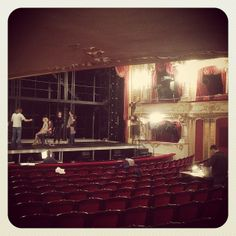 """Auditorium of the Stadttheater Fürth, where the German premiere of """"next to normal"""" tool place"""