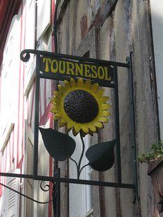 Shop sign, Vannes, France | Flickr: partage de photos!