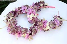 head bands Astrantia, Head Bands, Bouquets, Little Girls, Floral Wreath, Wreaths, Flowers, Decor, Toddler Girls