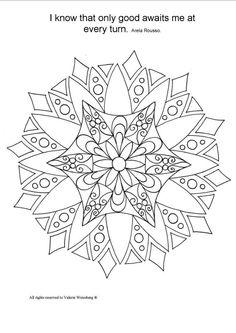 mandala coloring book art therapy healing art by valeriearts2014 - Art Therapy Coloring Pages Mandala