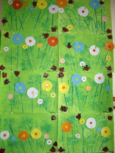 Art Floral, Ecole Art, Art Plastique, Flower Art, Art Projects, Collage, School, Spring, Nature