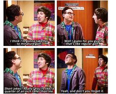 Leonard and his short jokes short people problems Short People Problems, Amy Farrah Fowler, Short Jokes, Dont Forget To Smile, Girl Problems, Story Of My Life, Big Bang Theory, Best Shows Ever, Best Tv
