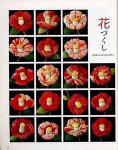Easy Oshie Vol.2 - Japanese Traditional Padded Cloth Craft Book - Crepe Fabric Zakka - Noriko Nishimoto 10
