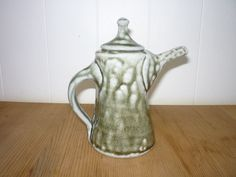 Andrew Van Der Putten salt-glazed teapot Teapot, Salt, Ceramics, Tableware, Hall Pottery, Kettle, Dinnerware, Tea Pot, Clay Pots