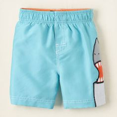 cute baby swim shorts
