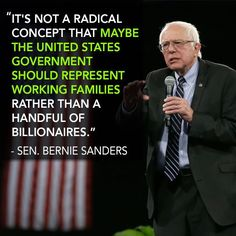 Ask yourself if a President Hillary Clinton with all her corporate ties could improve the lives of middle-class and poor Americans....Vote Bernie Sanders for President