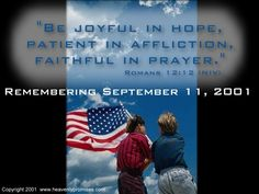 Day 123 (May 3) Be joyful in hope, patient in affliction, faithful in prayer.  - Revelation 21:6
