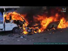 Guerra na Síria - Ataques aéreos dos EUA (coalizão) perto de Manjib l 28...