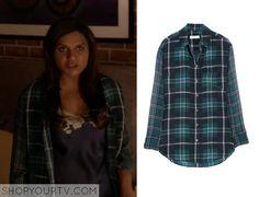 The Mindy Project: Season 3 Episode 9 Mindy's Green Plaid Shirt