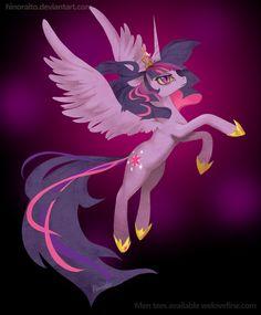 MLP FIM: Alicorn Twilight Sparkle Shirt by hinoraito.deviantart.com on @deviantART