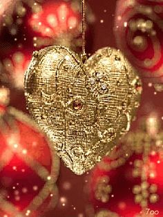 Magical Christmas Heart