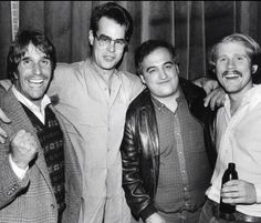 Henry Winkler, Dan Aykroyd, John Belushi and Ron Howard