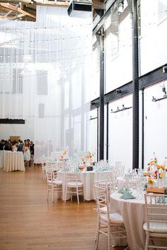Skybox at 2424 Studios Philadelphia Wedding Reception // Alison Dunn Photography