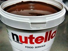 Nutella #nutella #chocolate #foodservice