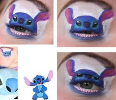 Quirky Eye Makeup