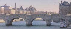 Thierry Duval, 1957 | Watercolor Paris painting | Tutt'Art@ | Pittura * Scultura * Poesia * Musica |