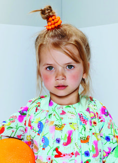Oilily Spring Summer 2015 - Blue Bird Print now available at www.yourchildrenswardrobe.com