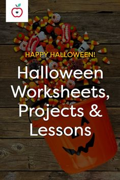 Explore the literature, customs and history of Halloween, using our worksheets, lessons, videos and activities. You'll find everything from costume patterns and printable Halloween masks to counting activities and vocabulary lessons. Students love this autumn holiday; take advantage of it! Integrate these Halloween resources into your classes to enhance cross-curricular study for all grade levels.