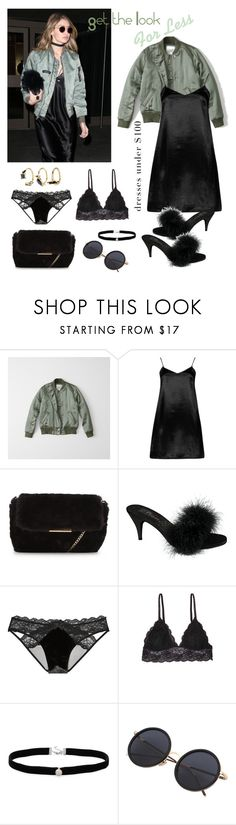 """Get the Look for Less"" by alexxa-b ❤ liked on Polyvore featuring adidas, Abercrombie & Fitch, Boohoo, Fabulicious, Victoria's Secret, Humble Chic, Amanda Rose Collection, Noir Jewelry, dresses and getthelookforless"