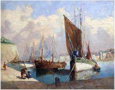 Concarneau et ses Peintres -peintres Français- Gaillard Deschamps