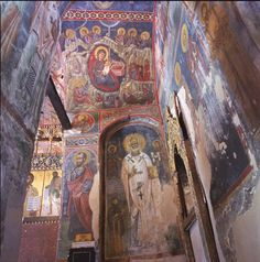 This region is characterized by one of the largest groups of churches and monasteries of the former Byzantine Empire.Painted Churches in the Troodos Region